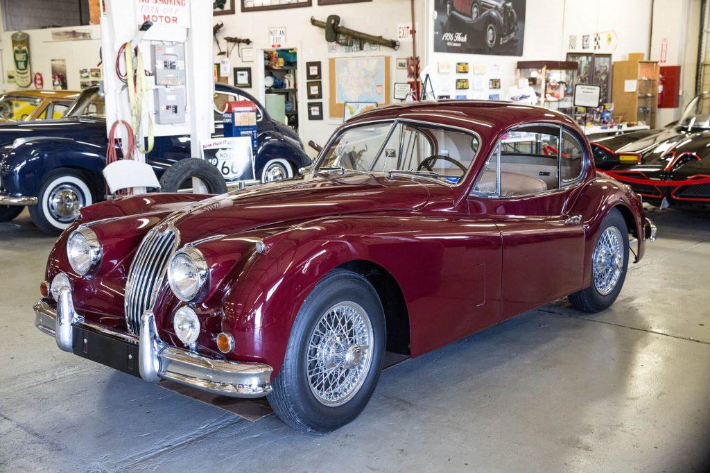 1957 Jaguar XK120 Coupe